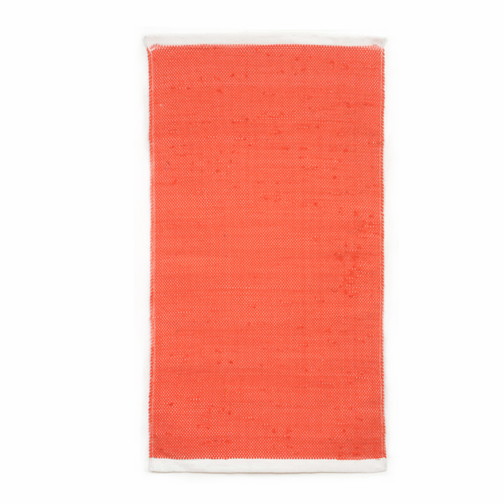 simply coral small rug 99 00 25 x 46 area rug vibrant coral ends are ...